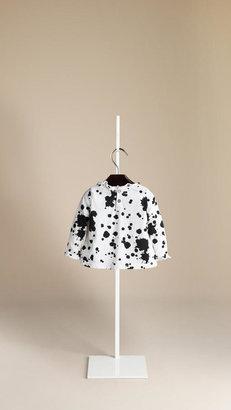 Burberry Splatter Print Cotton Top