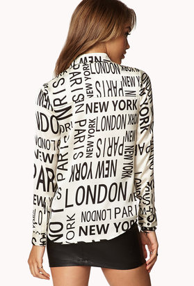 Forever 21 Big City Shirt