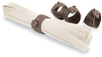 GG Collection G G Collection Four Napkin Rings