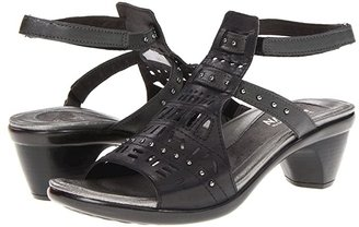 Naot Footwear Vogue (Brushed Black Metallic) Women's Sandals