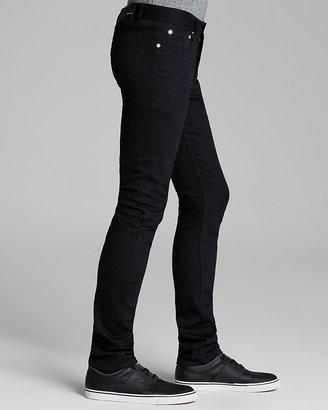 BLK DNM Jeans - Skinny Slim Fit in Baruch Black