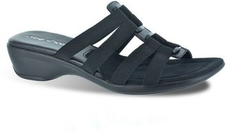 Easy street summer narrow slide sandals - women