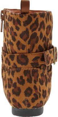 Old Navy Leopard-Print Boots for Baby