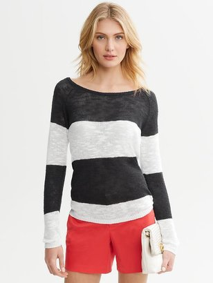 Banana Republic Rugby Stripe Pullover
