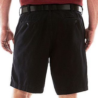 JCPenney THE FOUNDRY SUPPLY CO. The Foundry Supply Co. Twill Shorts-Big & Tall