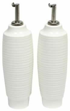 Maxwell & Williams Cirque Two-Piece Porcelain Oil & Vinegar Bottles Set