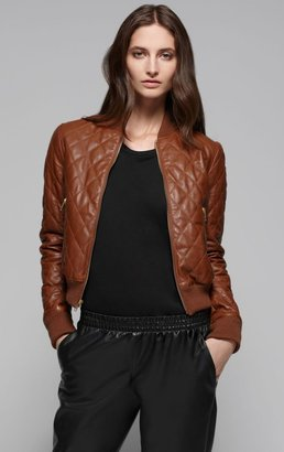Theory Dex Q Quilted Leather Jacket