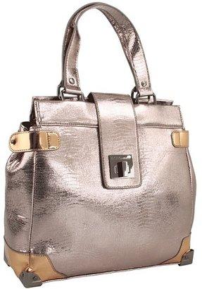 BCBGeneration Elle Medium Satchel (Rose Gold) - Bags and Luggage