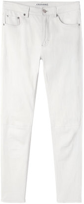Acne Studios skin 5 white leather pant
