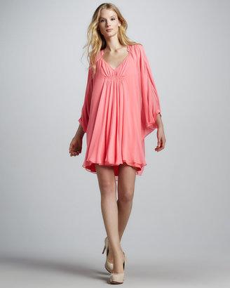 Diane von Furstenberg Fleurette Shift Dress, Pink Rose