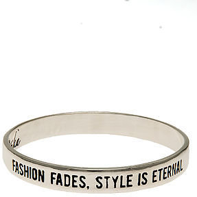 Ettika The Fashion Fades, Style Is Eternal Bangle