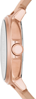 Fossil Chelsey Multifunction Sand Leather Watch