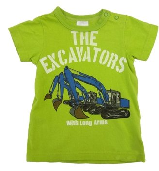 Bit'z Bit'z Kids - Boy's Excavators Tee - Lime