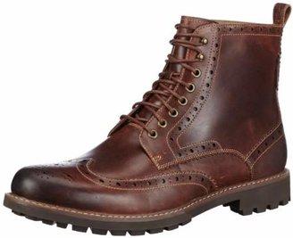 Clarks Men's Montacute Lord Boots, Brown (Dark Tan Lea), (46 EU)