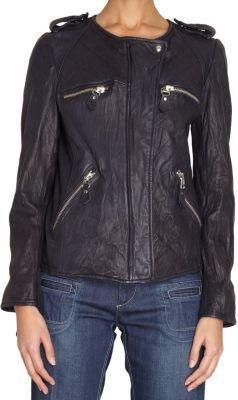 Etoile Isabel Marant Kady Leather Moto Jacket