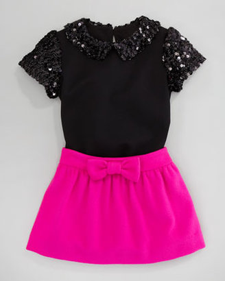 Milly Minis Michelle Bow Skirt, Sizes 2-6