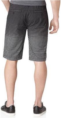 Calvin Klein Jeans Shorts, Gingham Dip Dye Shorts