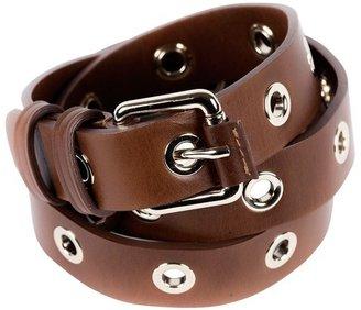 Vanessa Bruno Milk Chocolate Leather Belt