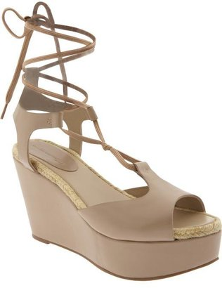 Gap Design Editions lace-up wedge sandals