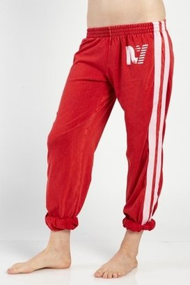 Rebel Yell Warm Up Sweats in Vintage Red