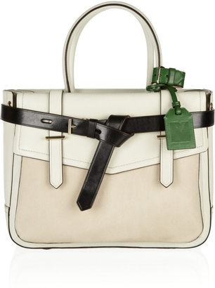 Reed Krakoff Boxer leather and calf hair tote