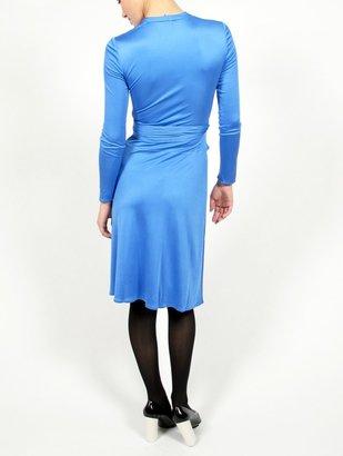 Issa Silk-Jersey Wrap Dress