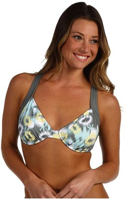 Carve Designs Lucia Bikini Top (Surf Ikat w/ Graphite) - Apparel