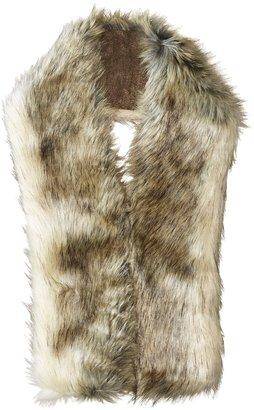 Hat Attack - Faux Fur Long Collar Scarves $90 thestylecure.com