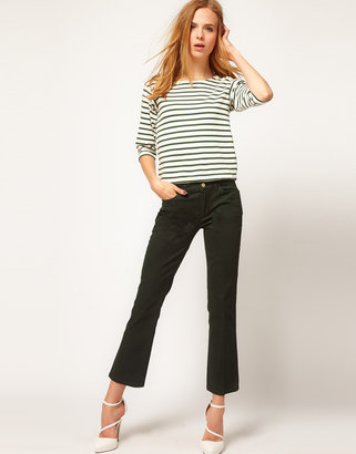 MiH Jeans Brighton Jeans in Hunter Twill