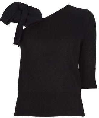 Viktor & Rolf knot shoulder blouse