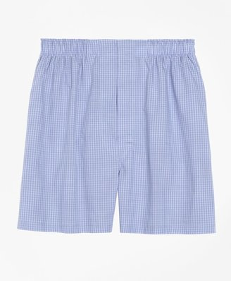 Brooks Brothers Slim Fit Mini Check Boxers