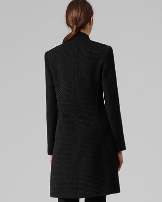 Reiss Coat - Vanity Long Quilted Jersey