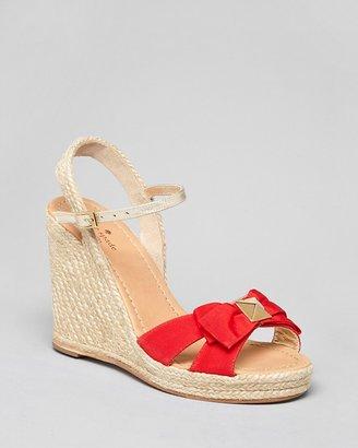 Kate Spade Espadrille Platform Wedge Sandals - Carmelita