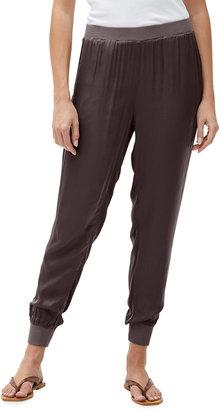 Michael Stars Lidia Satin Jogger Pants
