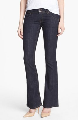 Hudson Jeans Triangle Pocket Bootcut Stretch Jeans (Lisa Dark Blue Wash) (Petite)