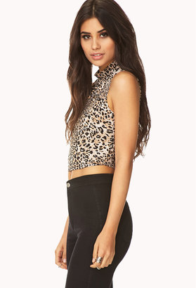 Forever 21 Spot-On Crop Top