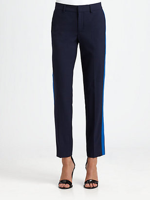 Vince Contrast-Stripe Track Pants