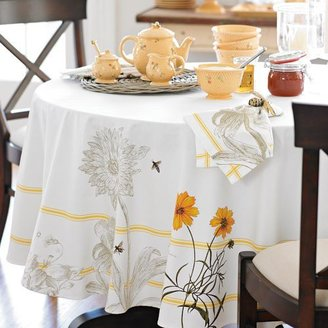 Williams-Sonoma Botanical Bee Tablecloth