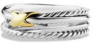 David Yurman X Crossover Ring $295 thestylecure.com