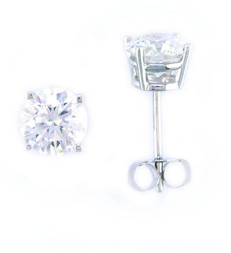 EFFY COLLECTION 14 Kt. White Gold Diamond Stud Earrings, 1.50 CT TW