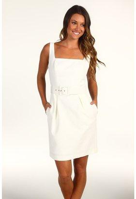 Trina Turk Fara Weave Shift Dress (Ivory) - Apparel