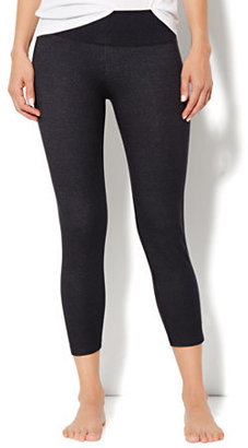 New York & Co. Love, NY&C Collection - Faux-Denim Crop Legging