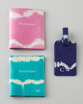 Graphic Image Tie-Dye Passport Case, Personalized