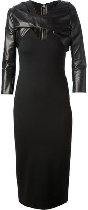 DSQUARED2 fitted mid length dress