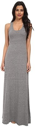 Alternative Racerback Maxi Dress (Eco Grey) Women's Dress