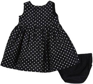 Carter's Dress - Black Dot- Newborn