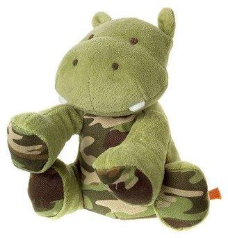 Gymboree Hippo Camo Plush Toy