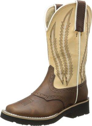 Roper Round Toe Saddle Vamp Western Boot (Toddler/Little Kid)