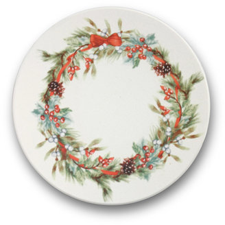 Mikasa French Countryside Set of 4 Wreath Coasters