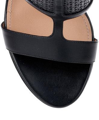 Salvatore Ferragamo Pacella black sandal bootie